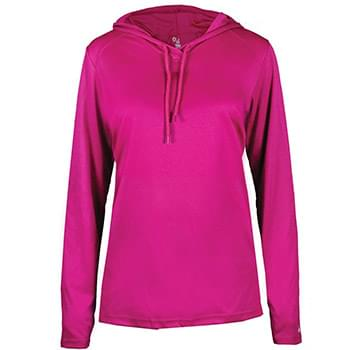 Women's B-Core Long Sleeve Hooded T-Shirt