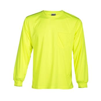 Microfiber Polyester Long Sleeve T-Shirt
