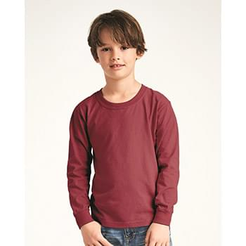 Garment-Dyed Youth Midweight Long Sleeve T-Shirt