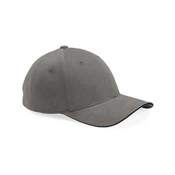 Heavy Brushed Twill Sandwich Cap