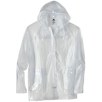Clear Hooded Rain Jacket