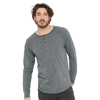 Triblend Long Sleeve Henley