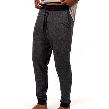 Denim Fleece Joggers