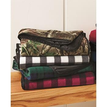 Alpine Fleece Patterned Picnic Blanket