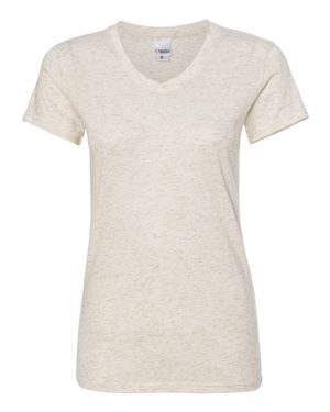 Women's Glitter V-Neck T-Shirt