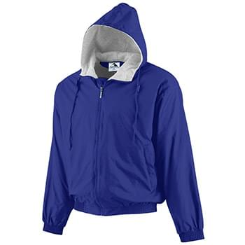 Youth Hooded Taffeta Jacket