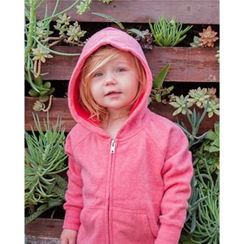 Toddler Lightweight Special Blend Raglan Zip Hood
