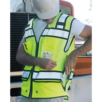 High Performance Surveyors Zipper Vest