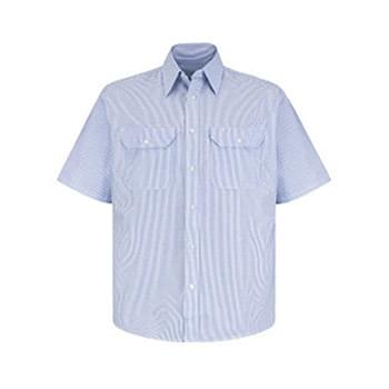 Deluxe Short Sleeve Uniform Shirt Long Sizes
