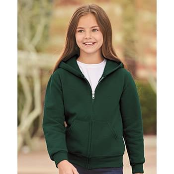 NuBlend Youth Full-Zip Hooded Sweatshirt