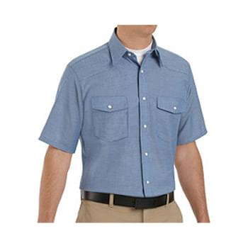 Deluxe Western Style Short Sleeve Shirt Long Sizes