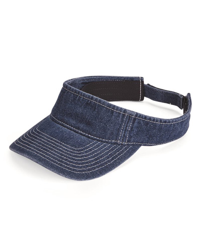 Washed Denim Visor