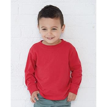 Toddler Long Sleeve Cotton Jersey Tee