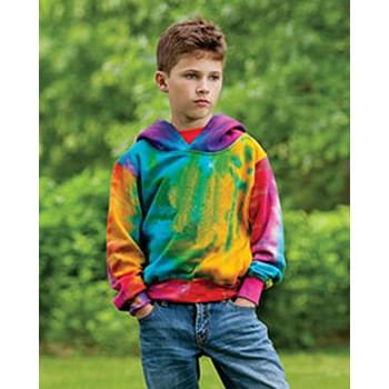 Youth Classic Fleece Tie Dye Hood