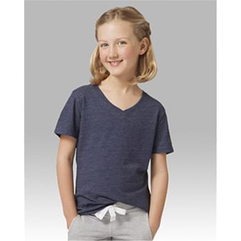 Girls' Relaxed V-Neck T-Shirt