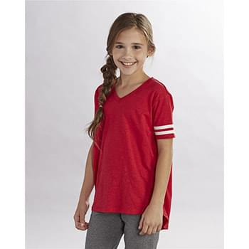 Girls' Sporty Slub T-Shirt