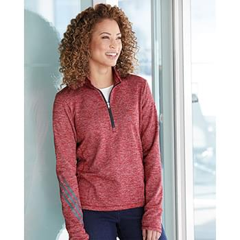 Women's Brushed Terry Heather Quarter-Zip