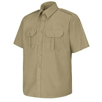 Men's Short Sleeve Security Shirt