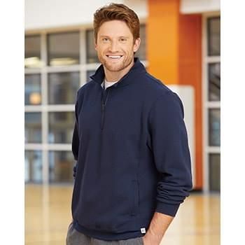 Dri Power® Quater-Zip Cadet Collar Sweatshirt