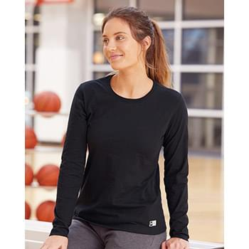 Women's Essential Long Sleeve 60/40 Performance Tee