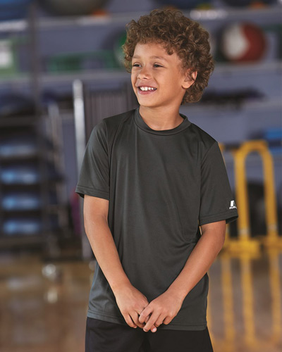 Youth Core Short Sleeve Performance Tee