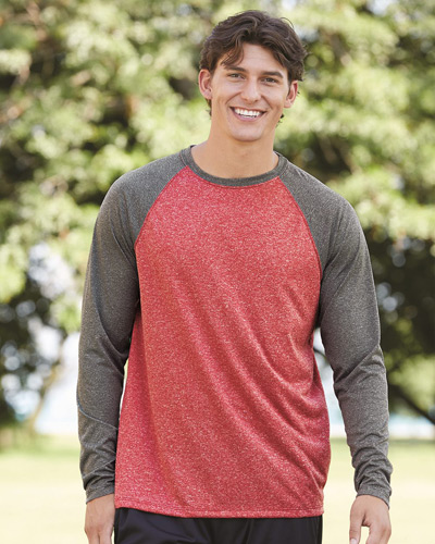 Kinergy Raglan Long Sleeve Tee