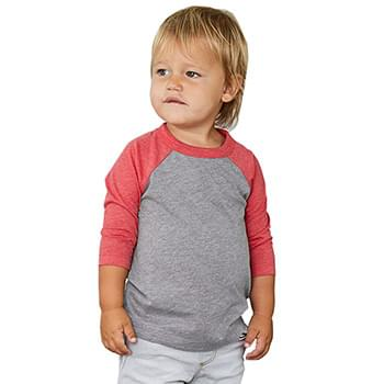 Toddler Three-Quarter Sleeve Baseball Tee