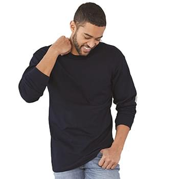 USA-Made Long Sleeve T-Shirt with a Pocket