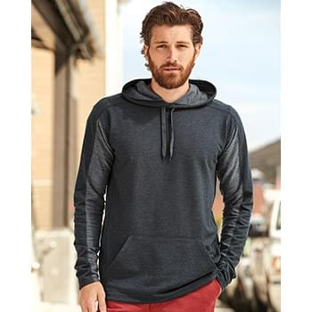 Omega Stretch Terry Hooded Pullover