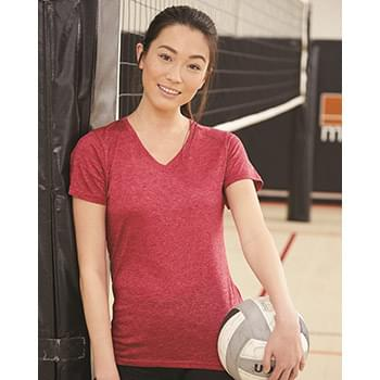 Triblend Performance Women's V-Neck T-Shirt
