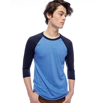 50/50 Three-Quarter Sleeve Raglan T-shirt