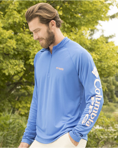 Terminal Tackle Long Sleeve Quarter-Zip Shirt
