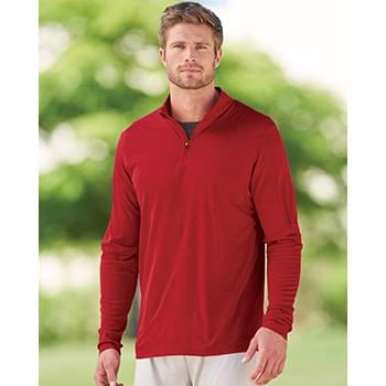 Attain True Hue Performance Quarter-Zip Pullover