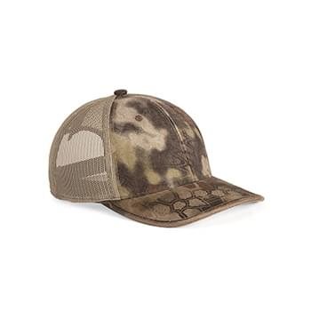 Weathered Bound Visor Trucker Cap