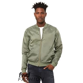 Fast Fashion Unisex Lightweight Bomber Jacket