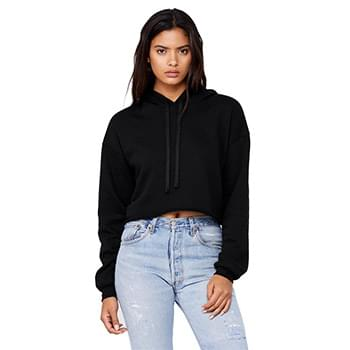 Women's Cropped Fleece Hoodie