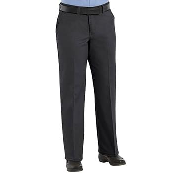 Women's Plain Front Cotton Pants Additional Sizes