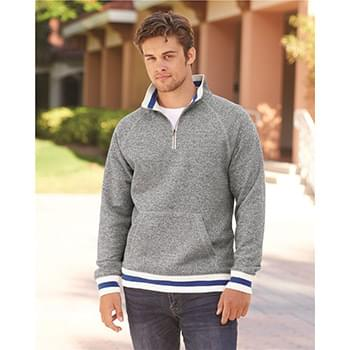 Peppered Fleece 1/4 Zip Pullover