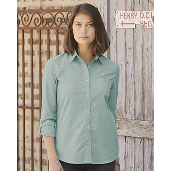Vintage Stretch Brushed Oxford Women's Shirt