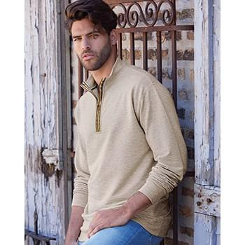Marled Quarter-Zip Sweatshirt