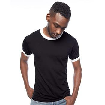 Unisex 50/50 Poly/Cotton Ringer T-Shirt
