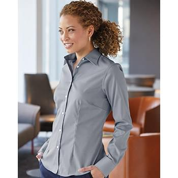 Women's Stretch Spread Collar