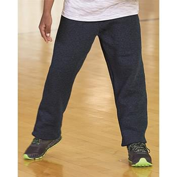Dri Power® Youth Open Bottom Sweatpants