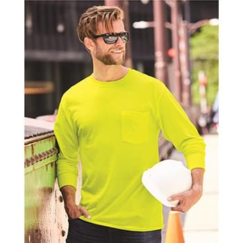 Workwear Long Sleeve Pocket T-Shirt