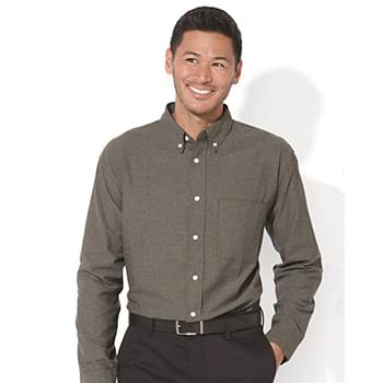 Long Sleeve Stain Resistant Oxford Shirt