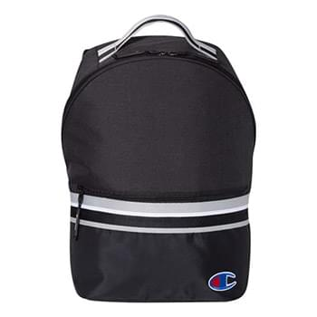 23L Striped Backpack