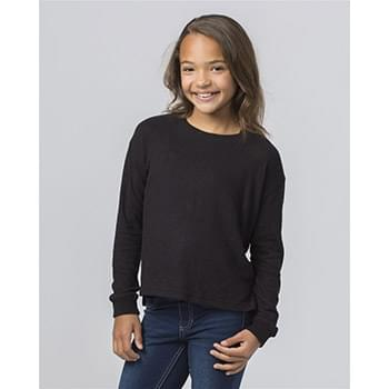 Girls' Cuddle Boxy Sweatshirt