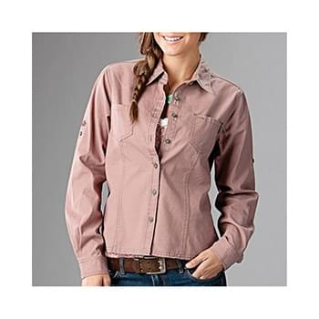 Sawtooth Collection Women's Mortar Long Sleeve Shirt