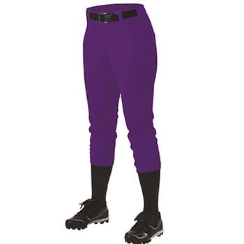 Girls' Belt Loop Fast-Pitch Pants