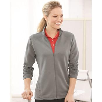 Women's Textured Full-Zip Jacket